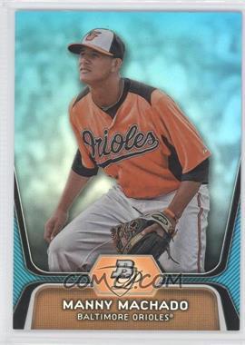 2012 Bowman Platinum National Convention Wrapper Redemption Prospects Platinum Blue #BPP23 - Manny Machado /499