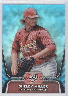 2012 Bowman Platinum National Convention Wrapper Redemption Prospects Platinum Blue #BPP27 - Shelby Miller /499