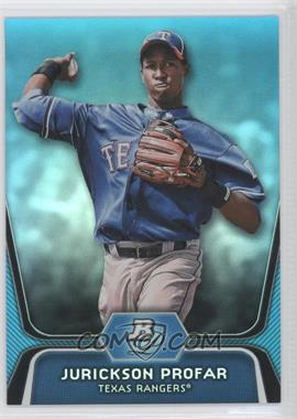2012 Bowman Platinum National Convention Wrapper Redemption Prospects Platinum Blue #BPP35 - Jurickson Profar /499