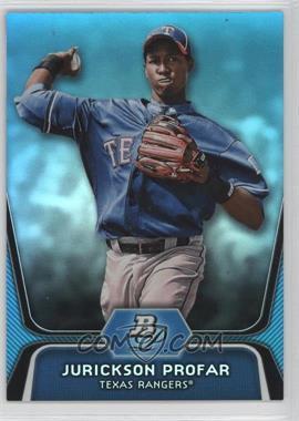 2012 Bowman Platinum National Convention Wrapper Redemption Prospects Platinum Blue #BPP35 - Jurickson Profar /499