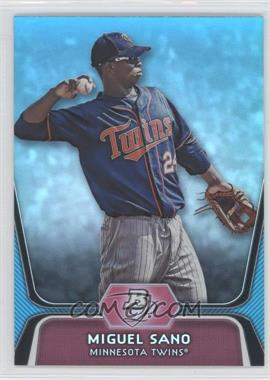 2012 Bowman Platinum National Convention Wrapper Redemption Prospects Platinum Blue #BPP39 - Miguel Sano /499