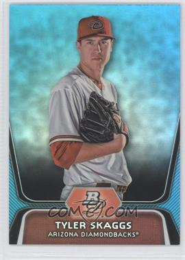 2012 Bowman Platinum National Convention Wrapper Redemption Prospects Platinum Blue #BPP42 - Tyler Skaggs /499