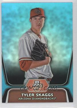 2012 Bowman Platinum National Convention Wrapper Redemption Prospects Platinum Blue #BPP42 - Tyler Skaggs /499