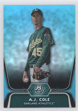 2012 Bowman Platinum National Convention Wrapper Redemption Prospects Platinum Blue #BPP52 - A.J. Cole /499