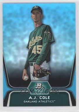 2012 Bowman Platinum National Convention Wrapper Redemption Prospects Platinum Blue #BPP52 - A.J. Cole /499