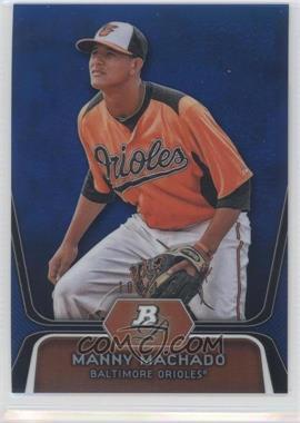 2012 Bowman Platinum Prospects Blue Refractor #BPP23 - Manny Machado /199