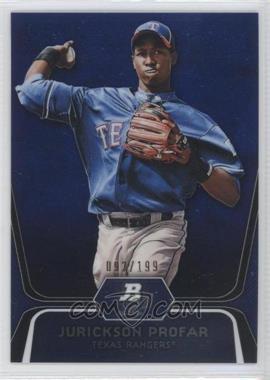 2012 Bowman Platinum Prospects Blue Refractor #BPP35 - Jurickson Profar /199