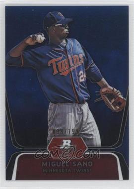 2012 Bowman Platinum Prospects Blue Refractor #BPP39 - Miguel Sano /199