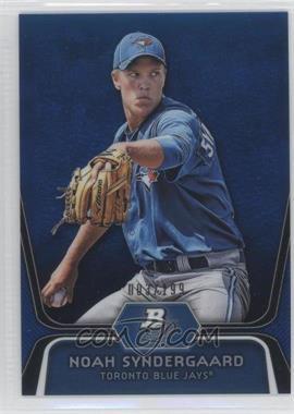 2012 Bowman Platinum Prospects Blue Refractor #BPP44 - Noah Syndergaard /199