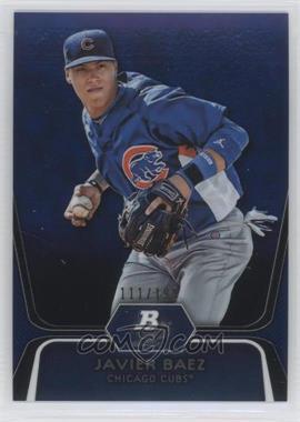 2012 Bowman Platinum Prospects Blue Refractor #BPP85 - Javier Baez /199