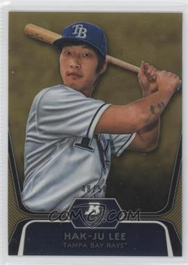 2012 Bowman Platinum Prospects Gold Refractor #BPP20 - Hak-Ju Lee /50