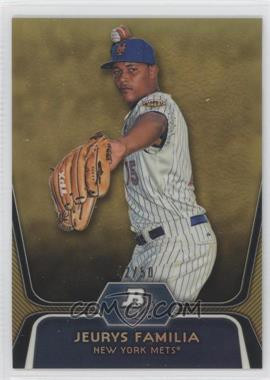 2012 Bowman Platinum Prospects Gold Refractor #BPP56 - Jeurys Familia /50