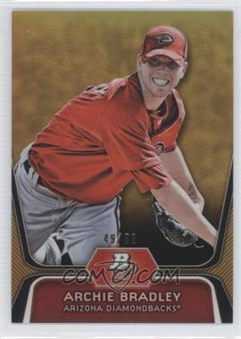 2012 Bowman Platinum Prospects Gold Refractor #BPP61 - Archie Bradley /50