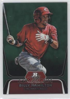 2012 Bowman Platinum Prospects Green Refractor #BPP16 - Billy Hamilton /399