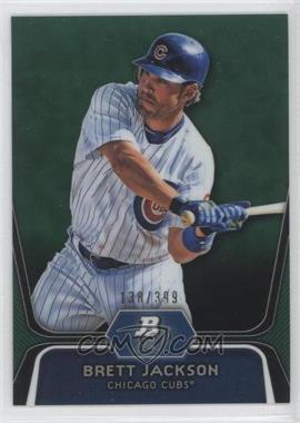 2012 Bowman Platinum Prospects Green Refractor #BPP19 - Brett Jackson /399