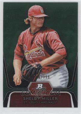 2012 Bowman Platinum Prospects Green Refractor #BPP27 - Shelby Miller /399