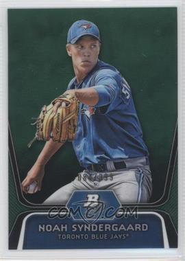 2012 Bowman Platinum Prospects Green Refractor #BPP44 - Noah Syndergaard /399