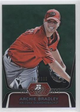 2012 Bowman Platinum Prospects Green Refractor #BPP61 - Archie Bradley /399