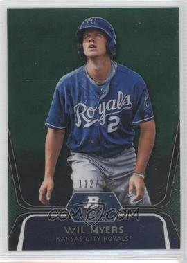 2012 Bowman Platinum Prospects Green Refractor #BPP80 - Wil Myers /399