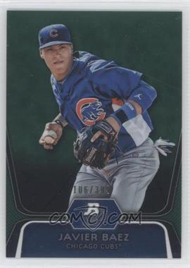 2012 Bowman Platinum Prospects Green Refractor #BPP85 - Javier Baez /399