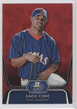 2012 Bowman Platinum Prospects Red Refractor #BPP71 - Zach Cone /25
