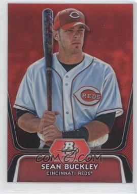 2012 Bowman Platinum Prospects Red Refractor #BPP75 - Sean Buckley /25