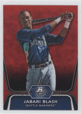 2012 Bowman Platinum Prospects Red Refractor #BPP79 - Jabari Blash /25