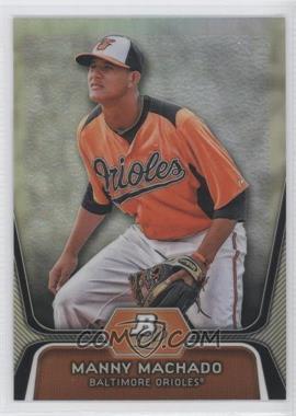 2012 Bowman Platinum Prospects Refractor #BPP23 - Manny Machado