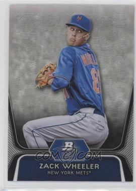 2012 Bowman Platinum Prospects Refractor #BPP48 - Zack Wheeler