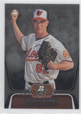 2012 Bowman Platinum Prospects Refractor #BPP64 - Dylan Bundy