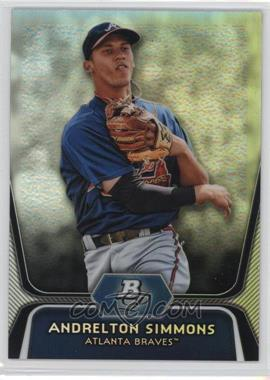 2012 Bowman Platinum Prospects Refractor #BPP76 - Andrelton Simmons