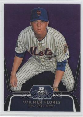 2012 Bowman Platinum Prospects Retail Purple Refractor #BPP12 - Wilmer Flores