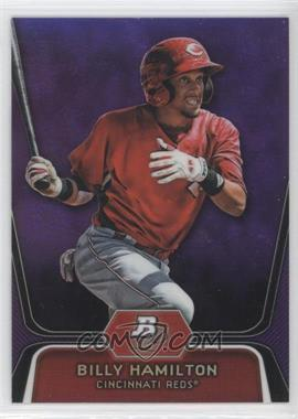 2012 Bowman Platinum Prospects Retail Purple Refractor #BPP16 - Billy Hamilton