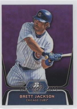 2012 Bowman Platinum Prospects Retail Purple Refractor #BPP19 - Brett Jackson