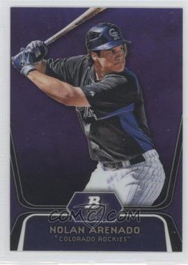 2012 Bowman Platinum Prospects Retail Purple Refractor #BPP2 - Nolan Arenado