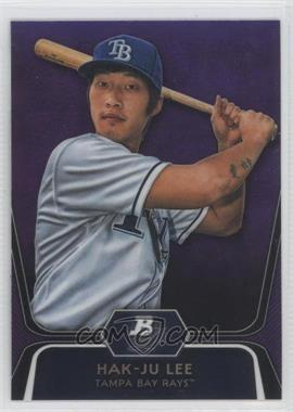 2012 Bowman Platinum Prospects Retail Purple Refractor #BPP20 - Hak-Ju Lee