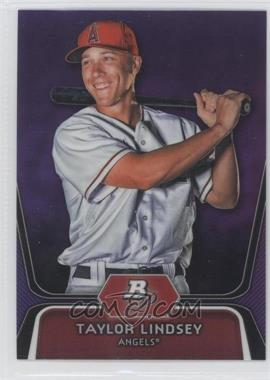 2012 Bowman Platinum Prospects Retail Purple Refractor #BPP21 - Taylor Lindsey