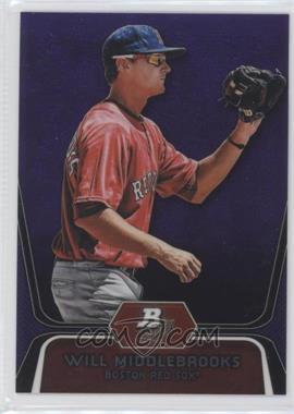 2012 Bowman Platinum Prospects Retail Purple Refractor #BPP26 - Will Middlebrooks