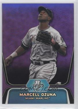 2012 Bowman Platinum Prospects Retail Purple Refractor #BPP31 - Marcell Ozuna