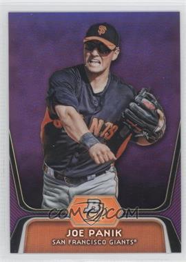 2012 Bowman Platinum Prospects Retail Purple Refractor #BPP32 - Joe Panik