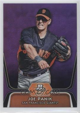 2012 Bowman Platinum Prospects Retail Purple Refractor #BPP32 - Joe Panik