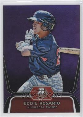 2012 Bowman Platinum Prospects Retail Purple Refractor #BPP36 - Eddie Rosario