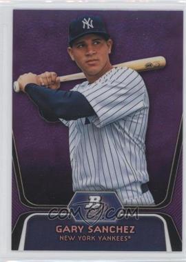 2012 Bowman Platinum Prospects Retail Purple Refractor #BPP38 - Gary Sanchez