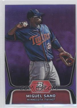 2012 Bowman Platinum Prospects Retail Purple Refractor #BPP39 - Miguel Sano