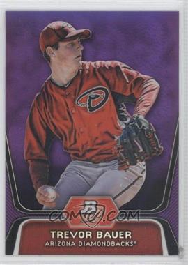 2012 Bowman Platinum Prospects Retail Purple Refractor #BPP4 - Trevor Bauer