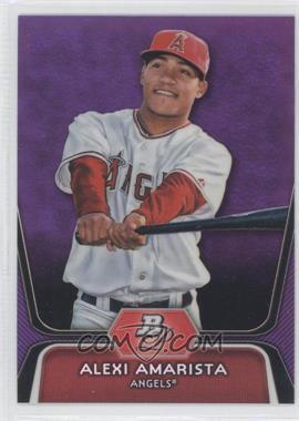2012 Bowman Platinum Prospects Retail Purple Refractor #BPP43 - Alexi Amarista