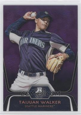 2012 Bowman Platinum Prospects Retail Purple Refractor #BPP46 - Taijuan Walker