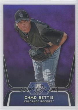 2012 Bowman Platinum Prospects Retail Purple Refractor #BPP5 - Chad Bettis