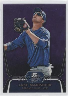 2012 Bowman Platinum Prospects Retail Purple Refractor #BPP53 - Jake Marisnick