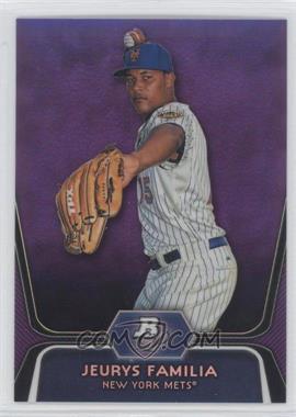 2012 Bowman Platinum Prospects Retail Purple Refractor #BPP56 - Jeurys Familia